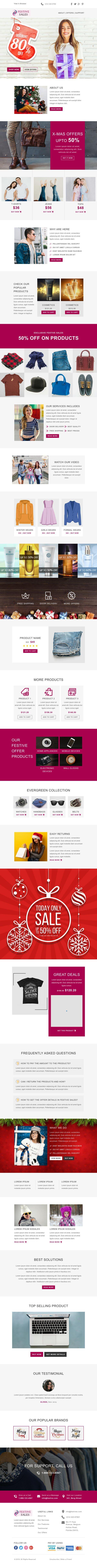 Festive Sales